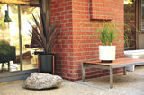 Modernica Case Study® Stoneware Ceramic Cylinder Planter with Plinth - gardenmybalcony.com - 10