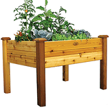 Gronomics Easy Assembly Elevated Garden Bed 34x48x32 - Finished - gardenmybalcony.com