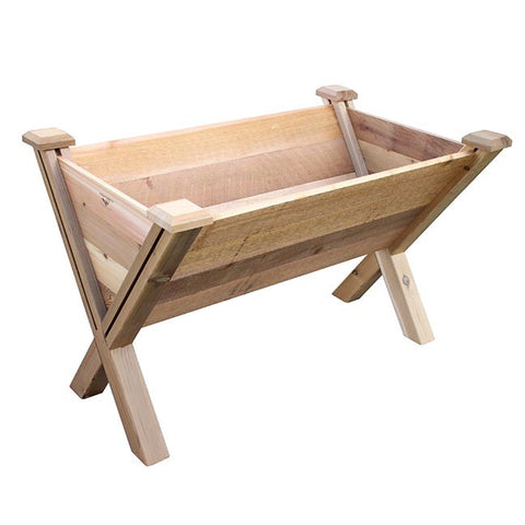 Gronomics Easy Assembly ECO Rustic Garden Wedge 30X48X32 - gardenmybalcony.com - 1