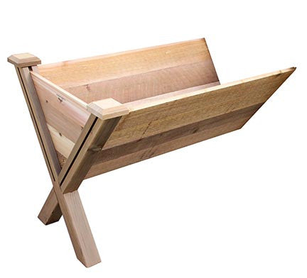 Gronomics Easy Assembly ECO Rustic Garden Wedge Extension Kit 30X48X32 - gardenmybalcony.com - 1