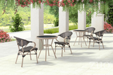 Marseille Outdoor Bistro Round Table - gardenmybalcony.com - 4
