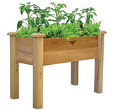 Gronomics Easy Assembly Rustic Elevated Garden Bed - 18X34X32 - gardenmybalcony.com - 1
