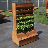 Gronomics Red Cedar Vertical Garden Stand - Unfinished - gardenmybalcony.com - 3