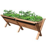 Gronomics Easy Assembly Rustic Garden Wedge Extension Kit 34X48X32 - gardenmybalcony.com - 2