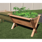 Gronomics Easy Assembly Rustic Garden Wedge & Stool Set - gardenmybalcony.com - 3