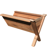 Gronomics Easy Assembly Rustic Garden Wedge Extension Kit 34X48X32 - gardenmybalcony.com - 1