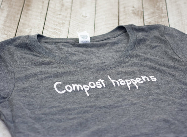 Compost Happens Women's V-Neck