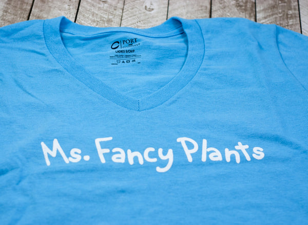 Ms.Fancy Plants T-Shirt