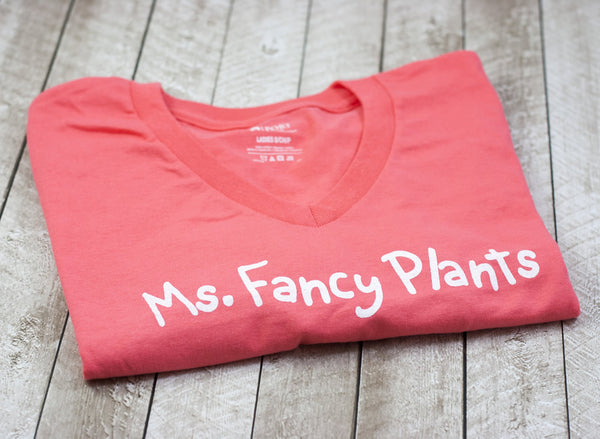 Ms. Fancy Plants T-Shirt