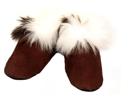 Hand Sewn Suede Leather Slippers