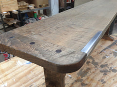Trestle Bench - Iron Buff