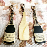 Vintage Veuve Clicquot Champagne Bottle Charm- French Brocante Collection