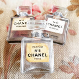 Chanel No. 5 Perfume Bottle Pendants - French Brocante Collection