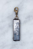 Blessed Mother and Child Rectangle Charm / CLOSEOUT