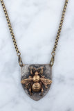 Bee Shield Pendant