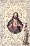Jesus Sacred Heart Greeting Card