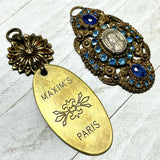 Van Gogh Inspired French Brocante Pendants
