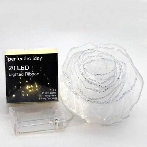 20 Led Ribbon String Light - Warm White