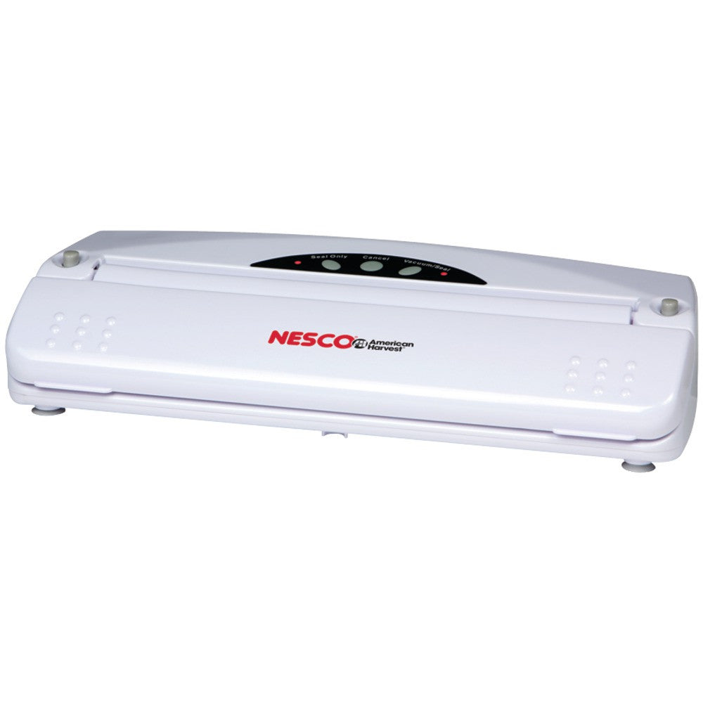 Nesco(r) American Harvest 110-watt Vacuum Sealer (white) - MNM Gifts