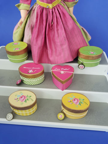 Hat Boxes- Bright Colors