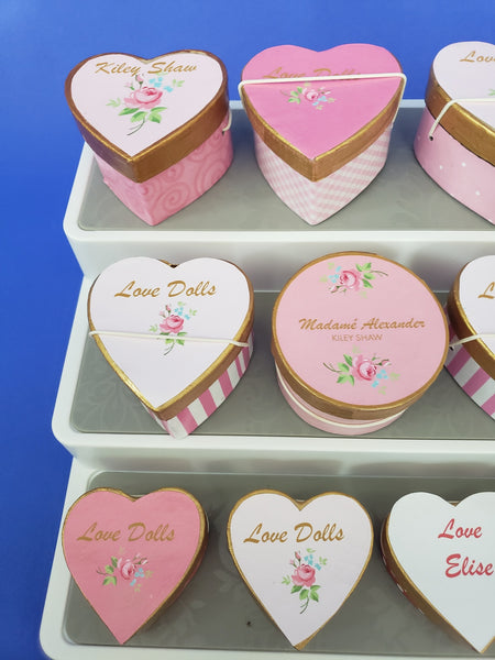 Hatboxes -Heart Collection