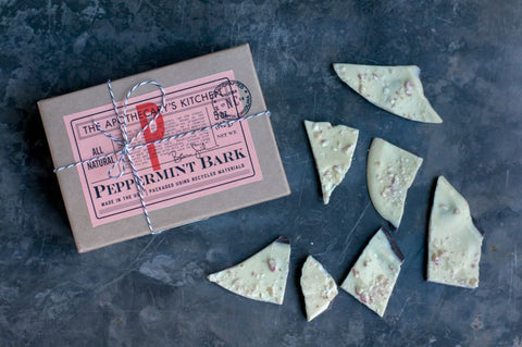 Hand-crafted Peppermint Bark, 12oz box