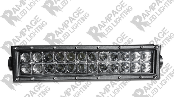 "Rampage Lighting 12"" Dual Row LED Light Bar"