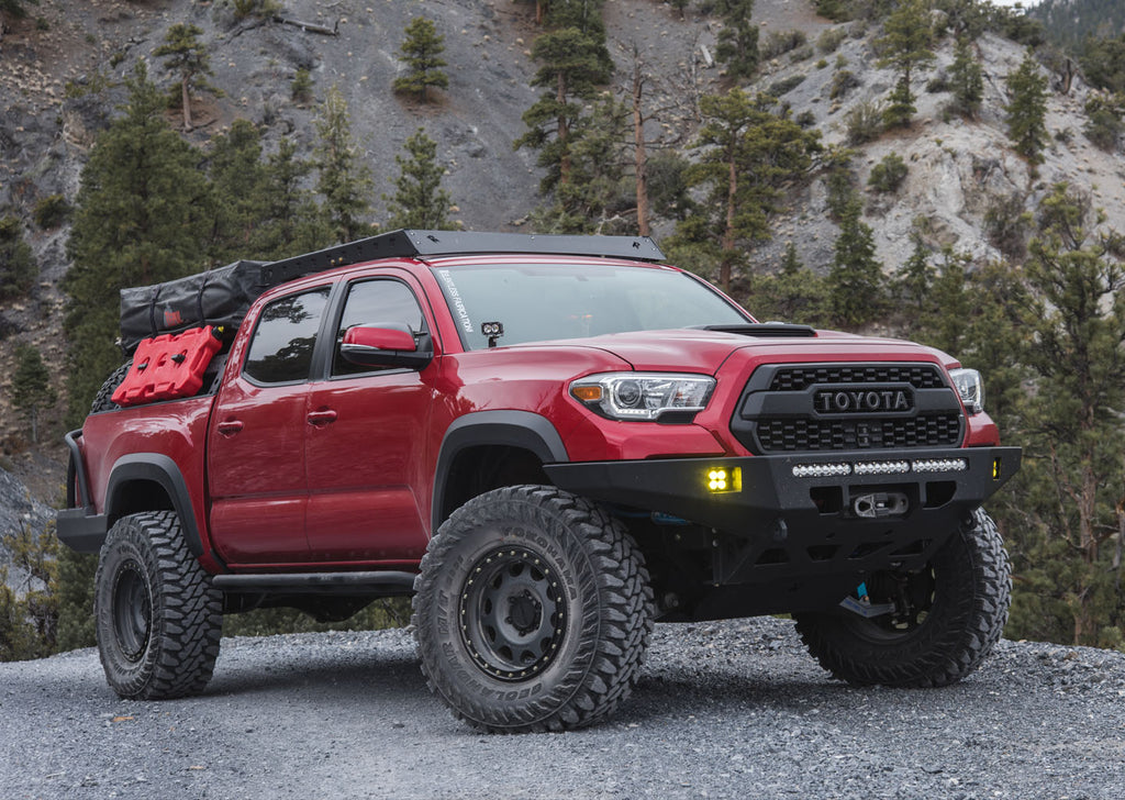 Tacoma Back Pages >> 2016 Tacoma Stealth Front Bumper