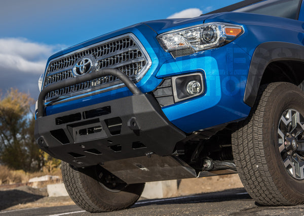 2016 tacoma stingray lo pro winch bumper relentless off road fabrication. Black Bedroom Furniture Sets. Home Design Ideas