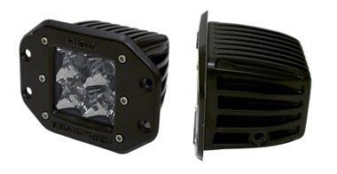 Rigid Industries D-Series Dually Flush mount LEDs - Pair