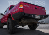 96-04 Tacoma Wrap Around Rear Plate Bumper