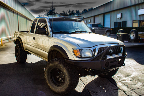 96 04 Tacoma Quot Summit Quot Front Plate Bumper Relentless Off