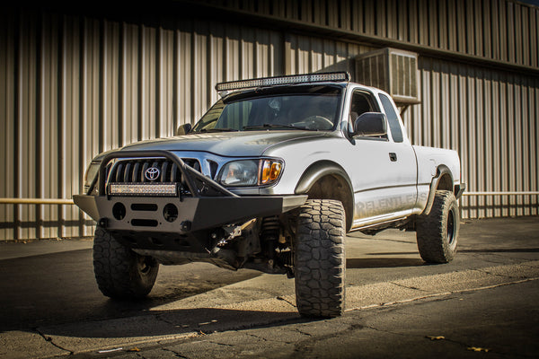 """Toyota Tacoma Towing Capacity >> 96-04 Tacoma """"SUMMIT"""" Front Plate Bumper – Relentless Off-Road Fabrication"""