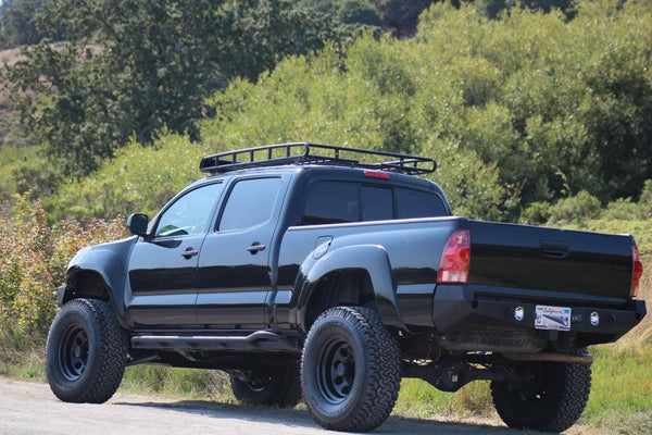 2005-2015 Tacoma Rear Plate Bumper – Relentless Off-Road ...