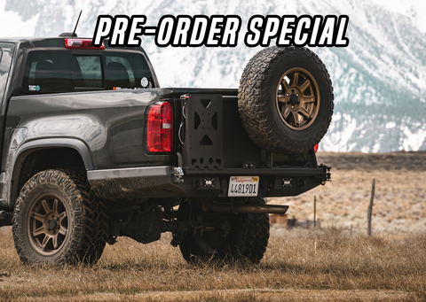 *PREORDER* 2015- 2020 Chevy Colorado/ 2017- 2020 Chevy ZR2 High Clearance Rear Bumper