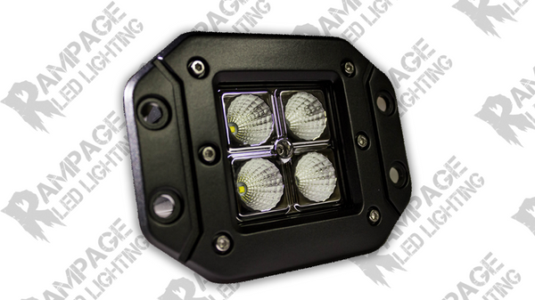 Rampage lighting Qube2 Flush mount LED Light Pod *Flood