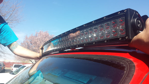 "Rampage Lighting RADIUS 42"" Dual Row LED Light Bar *Spot"