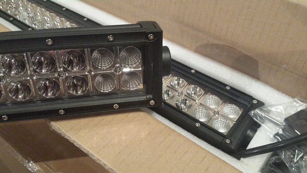 "Rampage Lighting RADIUS 50"" Dual Row LED Light Bar *Spot"