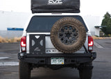 Rear Bumper Swingout Tire Carrier Add-On