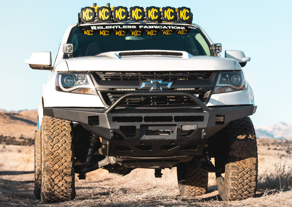 "2015- 2020 Chevy Colorado ""Defender"" Front Bumper (non-zr2)"