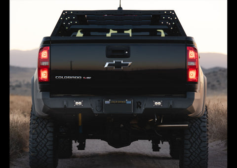 2015- 2020 Chevy Colorado/ 2017- 2020 Chevy ZR2 Rear Bumper