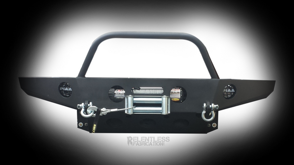 "00-02 Tundra ""DEFENDER"" Front Plate Bumper"