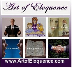 Art of Eloquence is 15 Years Old! Watch for the Specials!