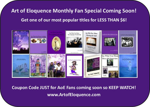 Facebook Fan Monthly Specials