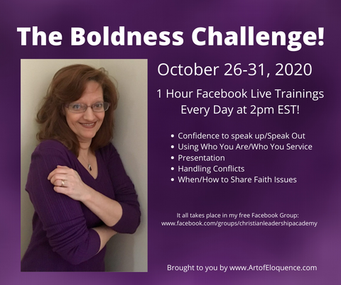 The Boldness Challenge