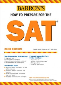 Barron's SAT Prep 23nd Edition