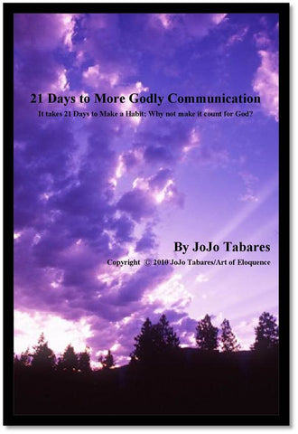 21 Days to More Godly Communication