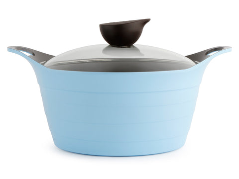Eela 4.5QT Covered Stockpot, Glass Lid