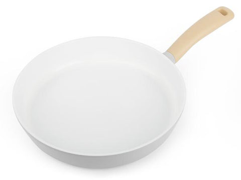 "Retro 11"" Frying Pan, Soft-Touch Handle"