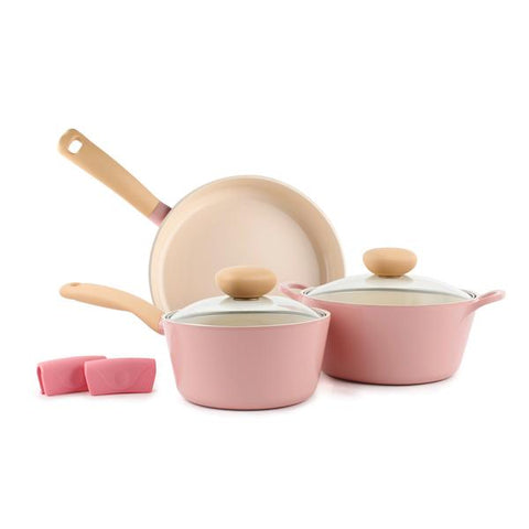 Retro 5pc Cookware Set